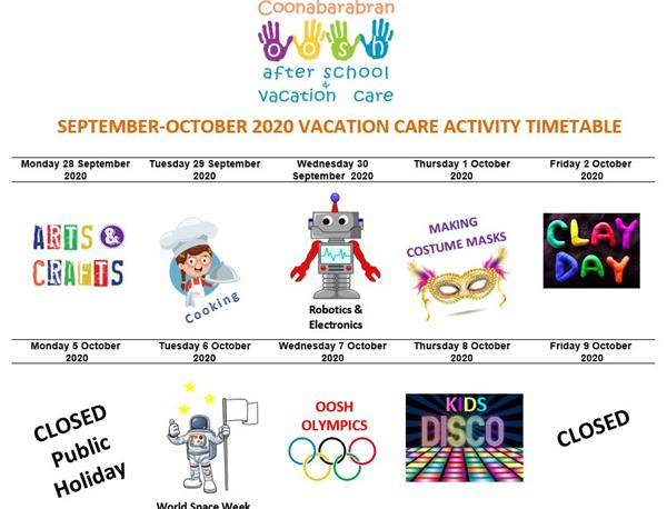 245-20 Vacation Care Activities - September October 2020 v2