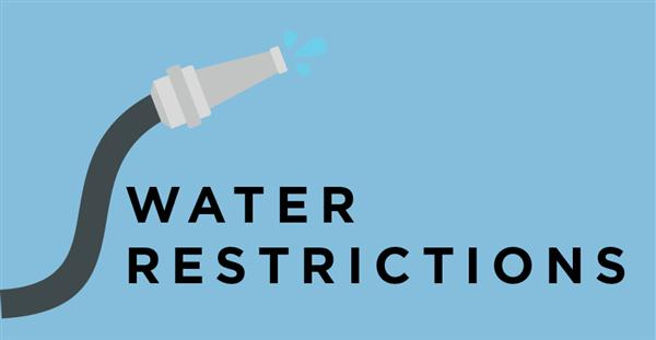 Graphic Town Water Supply - water restrictions