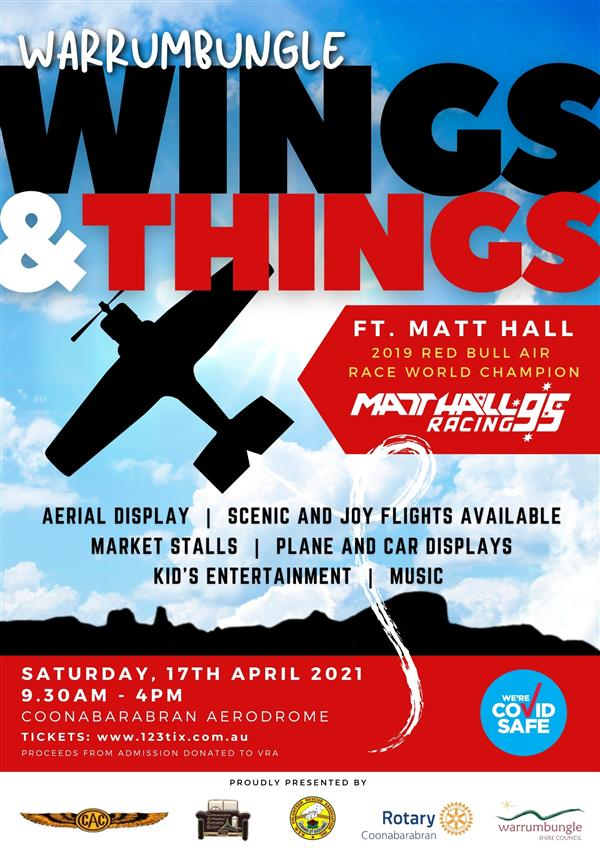 WINGS and THINGS POSTER