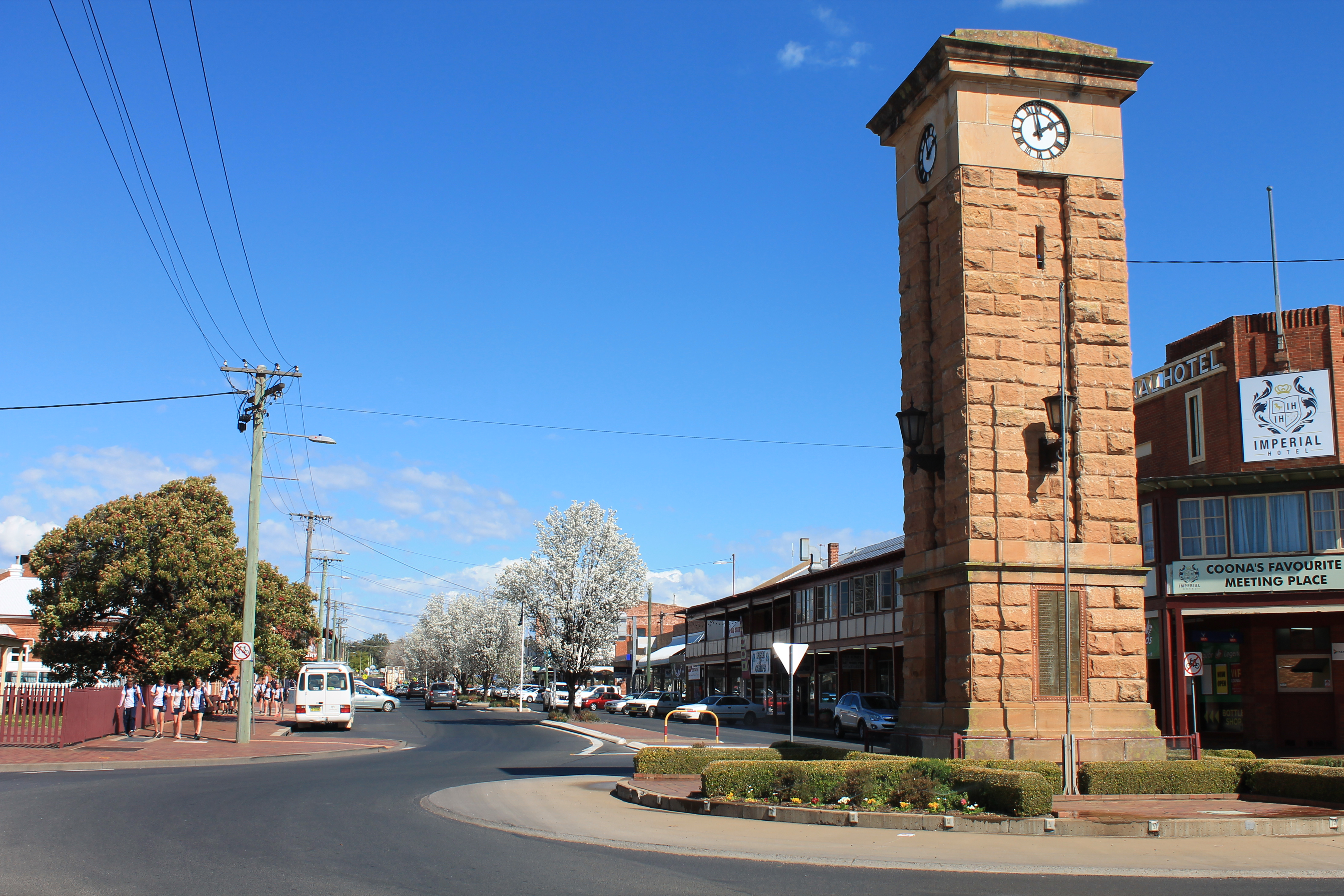 Coona Town Clock