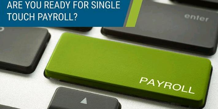 Payroll single touch